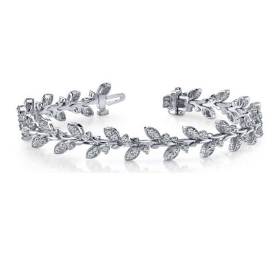 NJ Design Diamond Bracelet