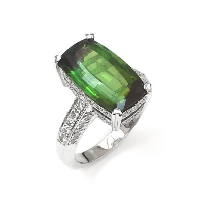 NJ Design Gemstone Ring