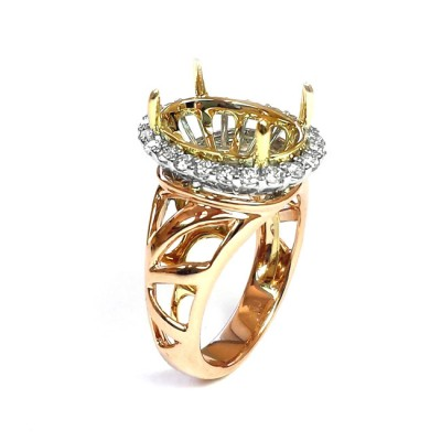NJ Design Diamond Ring
