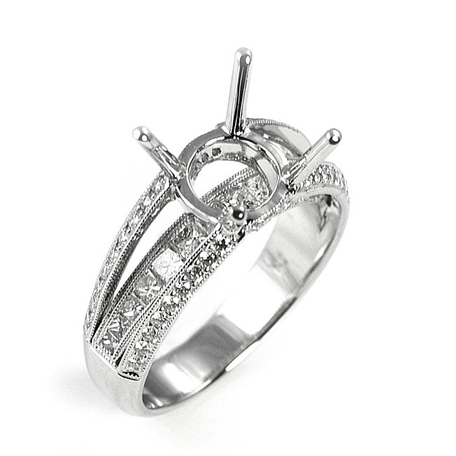 NJ Design Diamond Engagement Ring