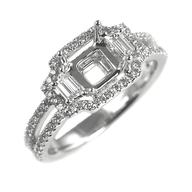 NJ Design Diamond Engagement Ring