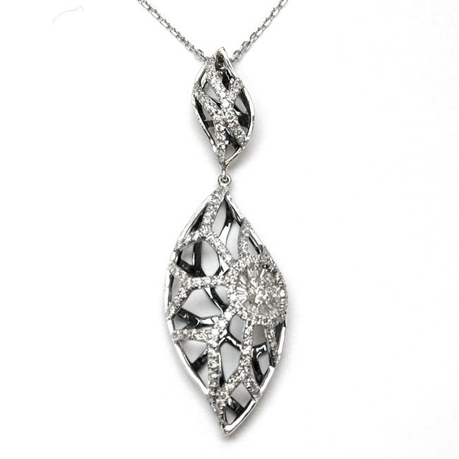 NJ Design Diamond Necklace