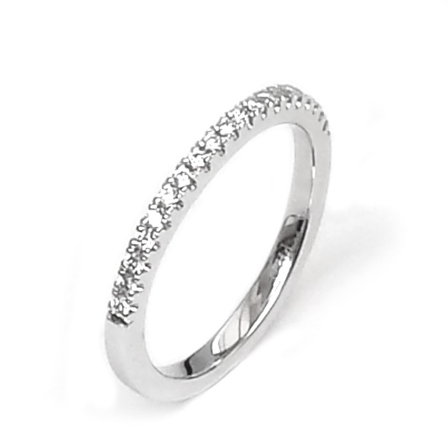 NJ Design Diamond Wedding Ring