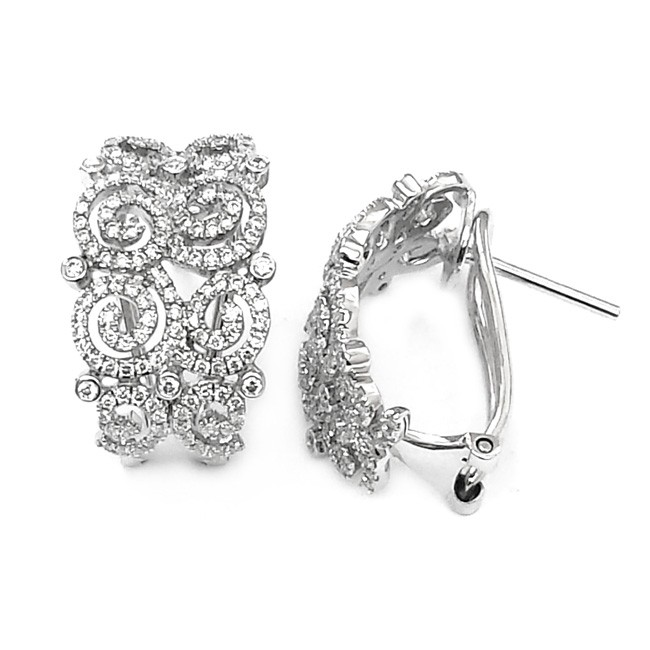 NJ Design DiamondEarrings